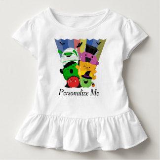 Camiseta De Bebé Halloween adaptable - amigos lindos de Mochi