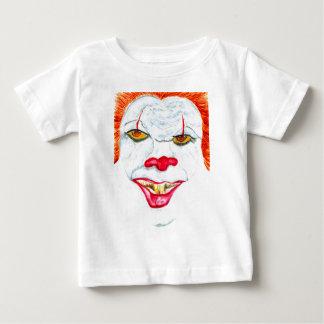 Camiseta De Bebé Halloween Clown2 asustadizo