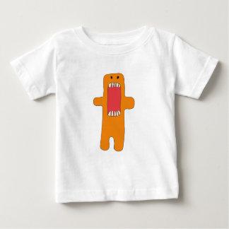 Camiseta De Bebé Hambre del tiene del naranja del monstruo del EL