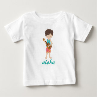 Camiseta De Bebé Hawaiana