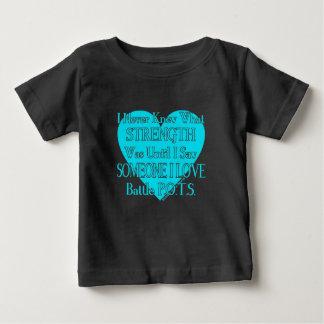 Camiseta De Bebé Heart/I nunca sabía… alguien el amor… P.O.T.S. de