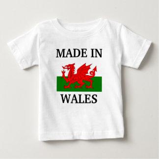 Camiseta De Bebé Hecho en País de Gales