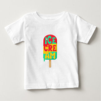 Camiseta De Bebé Helado