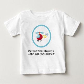 Camiseta De Bebé Helicóptero del papá
