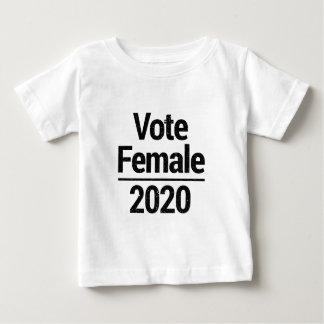 Camiseta De Bebé Hembra 2020 del voto