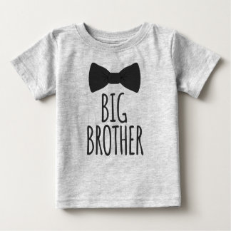 Camiseta De Bebé Hermano mayor Bowtie