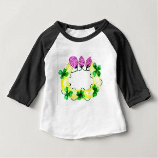 Camiseta De Bebé Herradura con el trébol