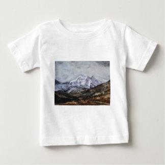 Camiseta De Bebé Herradura de Snowdon en Winter.JPG
