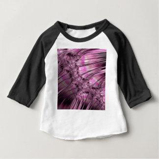 Camiseta De Bebé Hielo de la vinculación en fractal congelado del