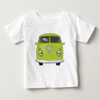 Camiseta De Bebé Hippie 1960 Van