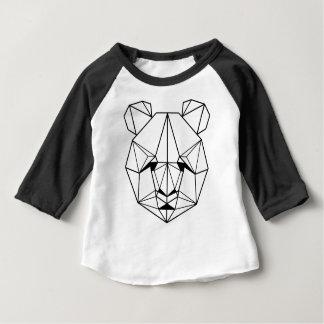 Camiseta De Bebé Hipster Geometric Panda