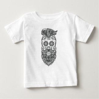 Camiseta De Bebé Hipster sugar skull 1