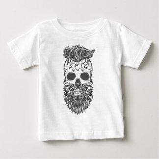 Camiseta De Bebé Hipster sugar skull 2