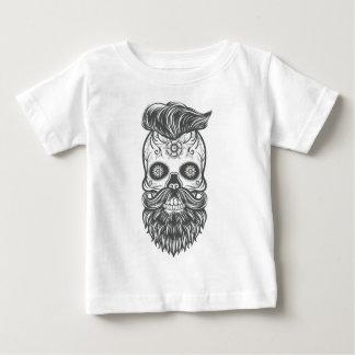 Camiseta De Bebé Hipster sugar skull 3