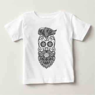 Camiseta De Bebé Hipster sugar skull 4