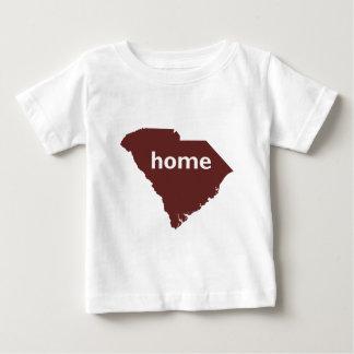 Camiseta De Bebé Hogar de Carolina del Sur