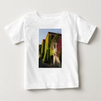 Camiseta De Bebé Hojas coloridas en las paredes de la casa