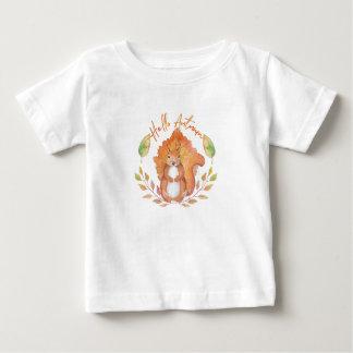 Camiseta De Bebé Hola otoño