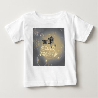 Camiseta De Bebé Hola pescador