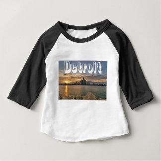 Camiseta De Bebé Horizonte de Detroit