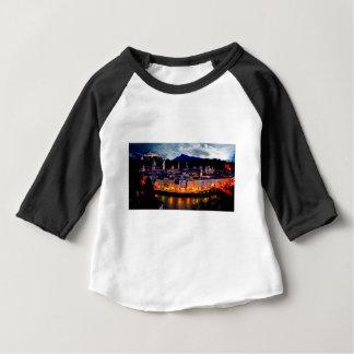 Camiseta De Bebé Horizonte de la noche de Salzburg