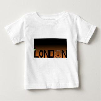 Camiseta De Bebé Horizonte de Londres