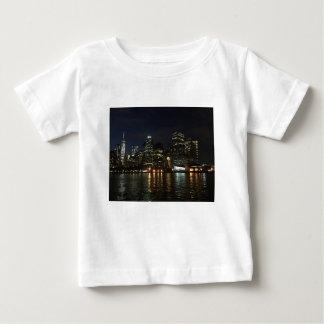 Camiseta De Bebé Horizonte de Manhattan