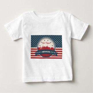Camiseta De Bebé Horizonte retro de Las Vegas