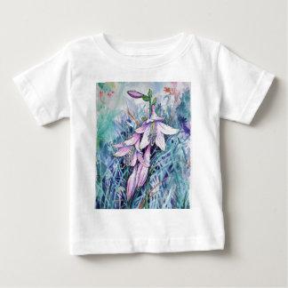 Camiseta De Bebé Hosta en la floración