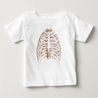Camiseta De Bebé huesos humanos