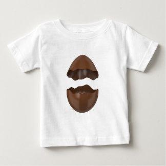 Camiseta De Bebé Huevo de chocolate quebrado