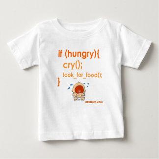 Camiseta De Bebé Hungry Baby