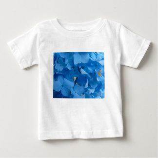 Camiseta De Bebé Hydrangeas azules