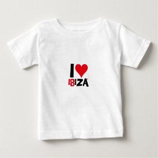 Camiseta De Bebé I love Ibiza 18IZA Edición Especial 2018