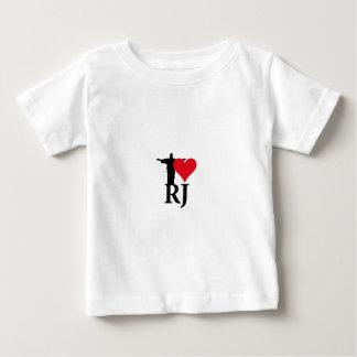 Camiseta De Bebé I Love Rio de Janerio Brazil Series