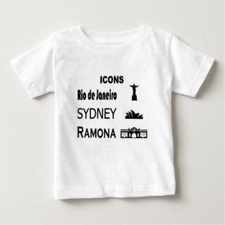 Camiseta De Bebé Icono-Río-Sidney