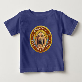 Camiseta De Bebé Iglesia de Roscotology (logotipo del círculo)