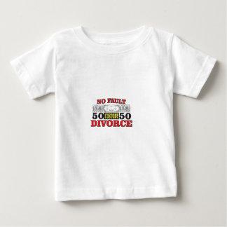 Camiseta De Bebé igualdad 50 del divorcio sin faltas 50