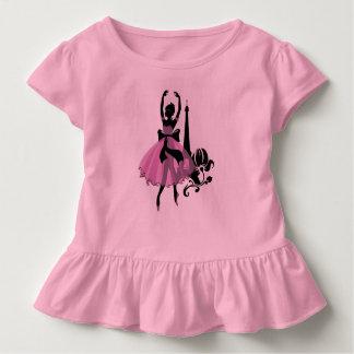 Camiseta De Bebé Ilustracion elegante del vintage de la moda.