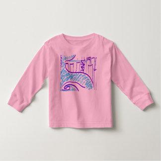 Camiseta De Bebé Impulsión de la orilla del lago