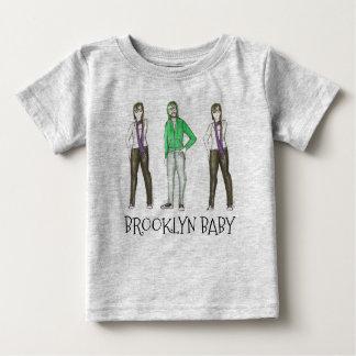 Camiseta De Bebé Inconformista Nueva York del bebé NYC Williamsburg