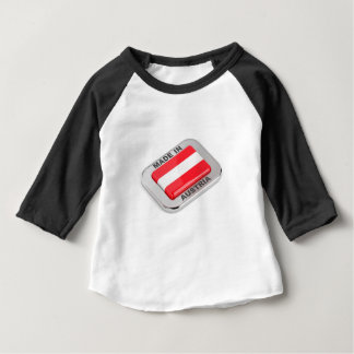 Camiseta De Bebé Insignia de plata hecha en Austria