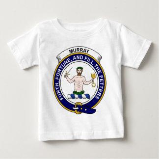 Camiseta De Bebé Insignia del clan de Murray (de Athole)