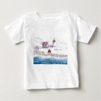 Camiseta De Bebé Invierno en el faro de la protuberancia pequeña en
