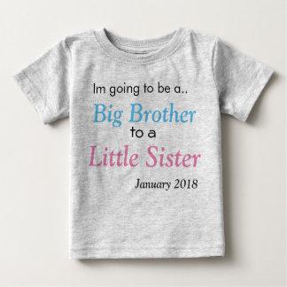 Camiseta De Bebé Invitación del hermano mayor
