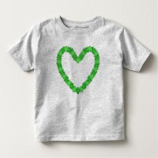 Camiseta De Bebé Irlandés en el niño T del corazón