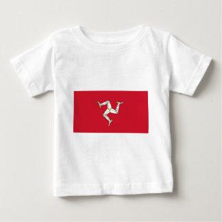 Camiseta De Bebé Isla de la bandera del hombre - bandera de la Isla