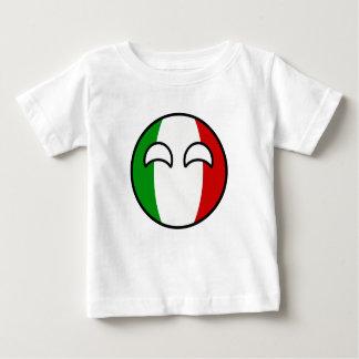 Camiseta De Bebé Italia Geeky que tiende divertida Countryball