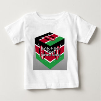 Camiseta De Bebé ¡Jambo Habari! Kenia Hakuna Matata