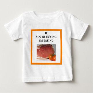 Camiseta De Bebé jamón